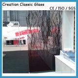アルミニウムネットが付いているワイヤーで縛られた薄板にされたガラス