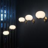 Dlss que ilumina a lâmpada de vidro moderna do pendente do ouro do projeto novo