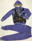 スクエア17123子供の衣服のスーツの網との方法子供のスポーツの摩耗