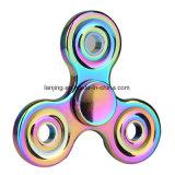 Bw1-038 Stuk speelgoed van de Spinner van de Spinner van de Hand van de Gyroscoop van de Vingers van het Metaal het Spiraalvormige Gekke