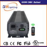 Salida de hidroponía Doble 630W CMH Iluminación de lastre con la lista de UL.