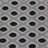 Tissu de coton à jour de broderie de type de diamant