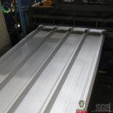 Hoja acanalada de acero del material para techos del color del material de construcción