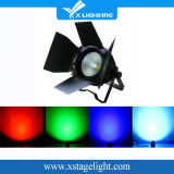 Blanc 100W COB LED PAR Light avec porte grise