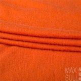 Nueve clases de colores de lanas/de la tela de nylon en naranja
