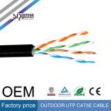 Câble extérieur de réseau de Sipu 0.4cu UTP Cat5e avec du ce