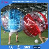 Bola de parachoques inflable de Zorb del fútbol de la burbuja de la bola de TPU