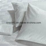 中国の卸し売りホテルの麻布、ホテルの寝具の100%年綿、星のホテルのためにセットされるジャカード寝具の