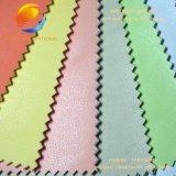 Tissu en cuir de haute qualité pour canapé avec surface en relief Fpe17m6n