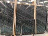 Черный деревянный мрамор/черный вал/мрамор Кении черный/черный/деревянное Verin для сляба/плитки/Countertop/верхней части/Tabletop тщеты