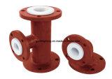 Productos plásticos comunes/Teflon de PTFE dentro del compensador acanalado