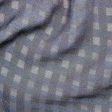 Тонкая ткань полиэфира голубой нашивки