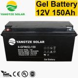 3 ans de soupape de garantie ont réglé la batterie solaire rechargeable de 12V 150ah pour le système solaire