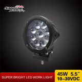 "Truck  24V  Spotlight  LED 5.5 "" 램프를 모는 45W 차 LED"