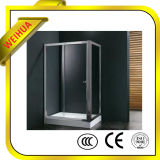 El vidrio Tempered para la puerta de la ducha puede ser modificado para requisitos particulares