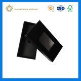 Rectángulo de papel de empaquetado de la alta calidad del regalo de encargo de la pajarita (con crear para requisitos particulares)