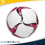 Balón de fútbol de costura de la máquina promocional del diseño