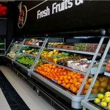 Refrigerador comercial grande das prateleiras ajustáveis da capacidade para frutas e verdura