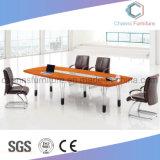 Mesa de reuniones funcional del sitio de trabajo de la melamina de la oficina
