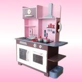 Кухня для малышей, игрушка игрушки нового продукта деревянная симпатичной деревянной кухни установленная для детей, претендует игру кухни игрушки установленную для сбывания