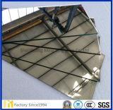 カスタムサイズのFrameless広く利用された長方形の斜めの銀製ミラー