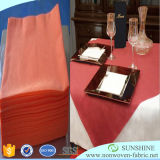 Tissus de Tableau de polypropylène, tissu de table ronde, toile de Tableau