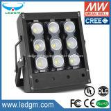 2017 neuestes Flutlicht des CREE Chip Meanwell Fahrer-100W LED mit 10 24 38 60 90 Grad-Strahlungswinkel