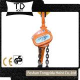 Heet Verkopend 0.75 Ton aan het Hijstoestel van de Hefboom van 9 Ton, het Blok van de Hefboom