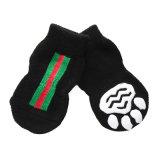 涼しく黒い編む綿すべり止め犬はペットアクセサリを強打する