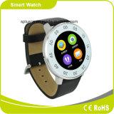 Aparência do relógio de Bluetooth 4.0 Mtk2502 Raditional podómetro Siri Smartwatch do telefone do ósmio de primeira qualidade de Androind & de I