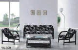 Sofá confortável barato requintado alaranjado da recepção do escritório do projeto moderno