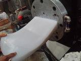 Filtro expulsando da borracha de silicone com o alimentador de parafuso dobro