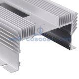 Espulsione di alluminio personalizzata per il dissipatore di calore con lavorare di CNC