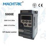 Minityp 0.4-2.2kw Frequenz-Geschwindigkeits-Laufwerk VSD mit einfachem funktionieren