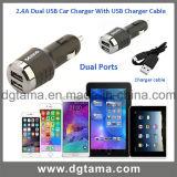2.4A Dual USB Car Charger voor iPhone iPad Samsung enz.