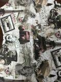 La stampa straordinaria picchietta cuoio sintetico per il sofà (HS039#)