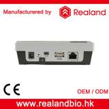 Control de acceso biométrico de la puerta del reconocimiento de la huella digital de Realand M-F181 con el intercomunicador video