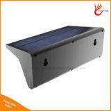 lâmpada solar da segurança do sensor de movimento de 800lm 46LED para o jardim ao ar livre