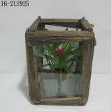 Vintage clásico Vintage de los plantadores de madera de la flor