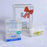 Caixa de empacotamento para animais com impressão customizável transparente recarregável personalizada