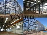 Vertiente prefabricada ligera fabricada de la estructura de acero de la planta siderúrgica