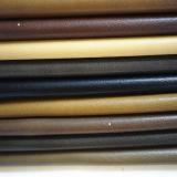 Couro sintético de superfície liso para as sapatas ou os sacos (HTS021)