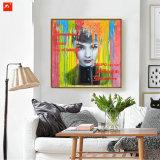 Señora pintura al óleo Retrato de Inicio