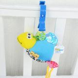 Plüsch-Baby-Bett-Aufhängungs-Spielzeug-quietschendes Plüsch-Spaziergänger-Spielzeug