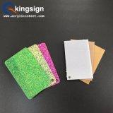 folha acrílica do Glitter de 3mm com tela