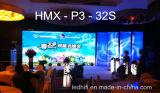 P3 farbenreiche Transprent LED-Bildschirmanzeige für Innengebrauch