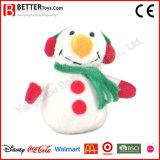 Bonhomme de neige de jouet bourré par cadeau de Noël pour le gosse