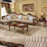 El sofá de madera fijó para los muebles caseros y los muebles del hotel (D523)