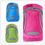 Saco da trouxa de Mochila Snapsack de três cores, saco de escola