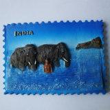 Ímã do refrigerador do indiano do turista da resina da imã